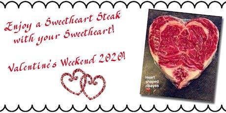 Havana Springs Resort - Sweetheart Steak Dinner for 2 tickets