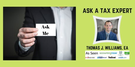 Ask a Tax Question (Small Business Owners) tickets