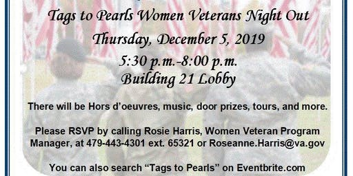 Tags to Pearls Women Veterans Night Out
