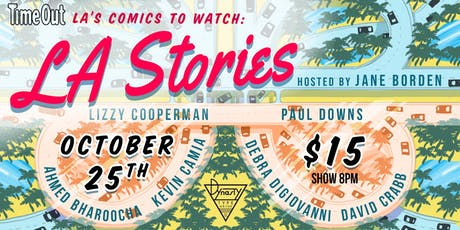 Time Out LA's Comics to Watch: LA Stories tickets