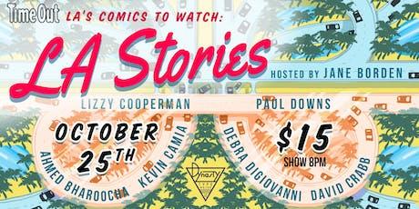Time Out LA's Comics to Watch: LA Stories tickets