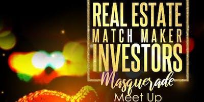 Real Estate Matchmaker Investors Masquerade Meet Up