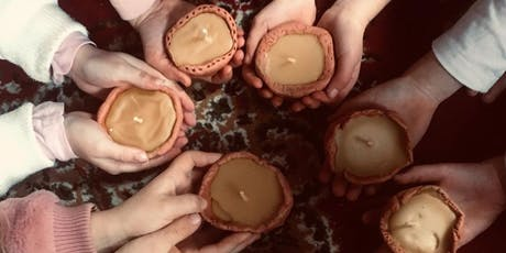 Pinch Pot Beeswax Candle Workshop tickets