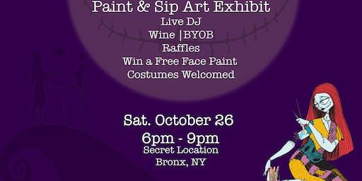 Design & Wine | Paint & Sip Art Exhibit