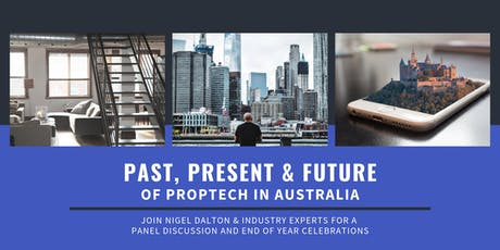 The Past, Present & Future of Proptech Australia tickets