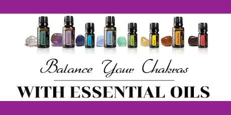 Chakras & Essential Oils tickets