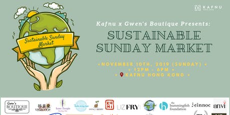 Kafnu x Gwen's Boutique: November Sustainable Sunday Market tickets