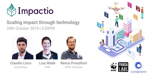 Impactio: scaling impact through technology (powered by ConsenSys and WWF)