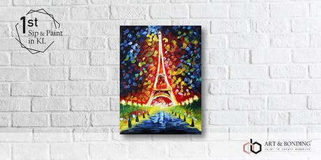 Sip & Paint Night : Eiffel Tower tickets
