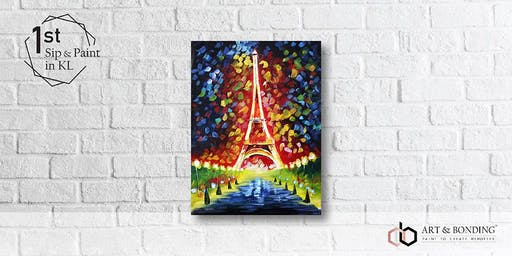 Sip & Paint Night : Eiffel Tower