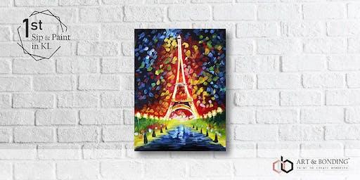 Sip & Paint Night : Eiffel Tower