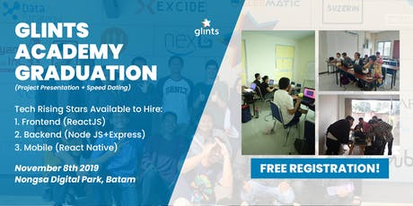 Glints Academy Graduation (Project Presentation & Speed Dating) tickets
