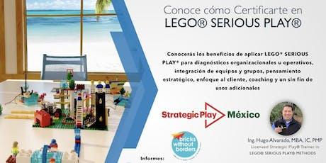 Playa del Carmen: Ven y Conoce LEGO® SERIOUS PLAY® entradas