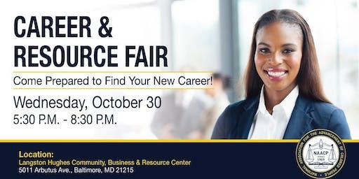 NAACP Maryland Career and Resource Fair