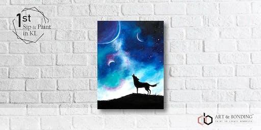 Sip & Paint Night : Galaxy Wolf