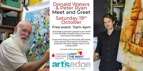 Donald Waters and Peter Ryan Meet and Greet! tickets