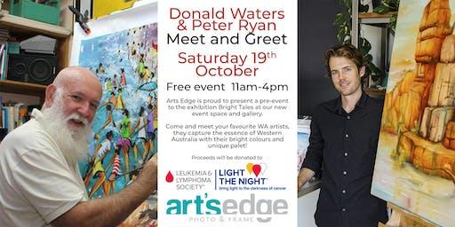 Donald Waters and Peter Ryan Meet and Greet!