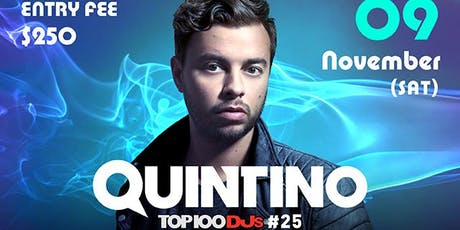 Club Cubic Presents Quintino tickets