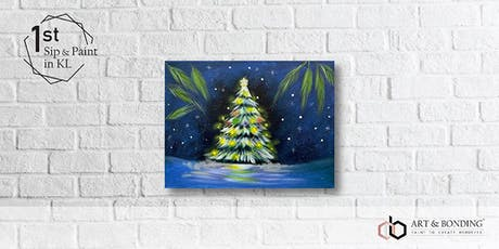 Sip & Paint Night : Winter Christmas Tree tickets