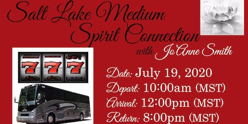 """SPIRIT CONNECTION FUN BUS TO WENDOVER"" WITH SALT LAKE MEDIUM, JO'ANNE SMITH"