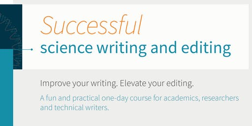 Successful science writing and editing – a one-day workshop