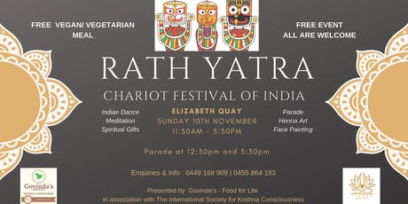 Chariot Festival of India - Rath Yatra tickets