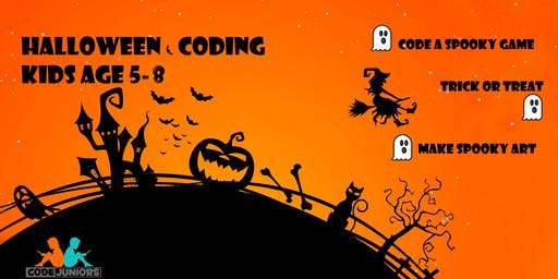 Halloween Coding Party (for ages 5-8)