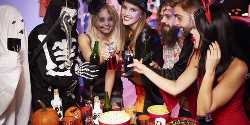 Make new friends this Halloween! (25 to 45) -  (Free Drink/Costume/Tor)