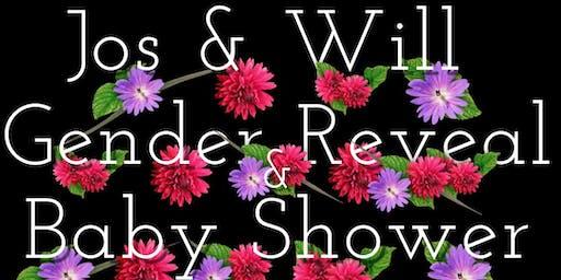 Jos & Will Gender Reveal Baby Shower