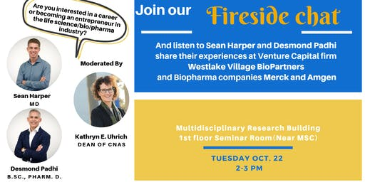 Fireside Chat with Sean Harper and Desmond Padhi