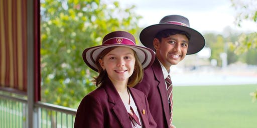 St Peters Lutheran College Springfield Year 7 2020 Orientation Morning