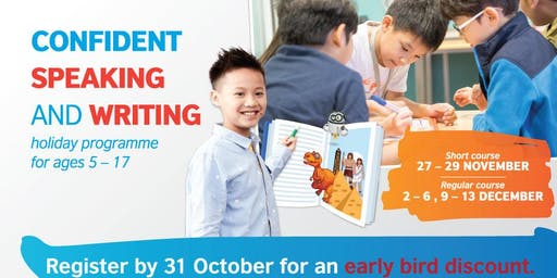 British Council Kids Holiday Programme: Confident Speaking and Writing (KL)