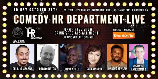 Comedy HR Department LIVE!