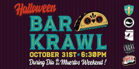 Downtown Chandler's South of The New Square Halloween Pub Krawl tickets