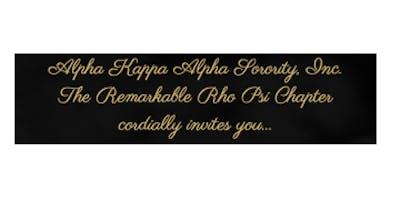 Alpha Kappa Alpha Sorority, Inc   Rho Psi Chapter 20th Anniversary