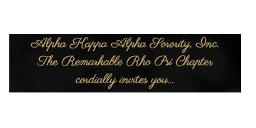 Alpha Kappa Alpha Sorority, Inc | Rho Psi Chapter 20th Anniversary