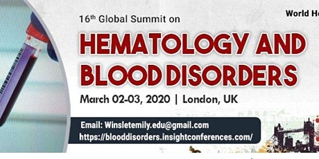 Hematology and Blood Disorders tickets