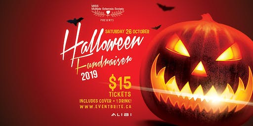 HALLOWEEN FUNDRAISER AT ALIBI: COVER + DRINK