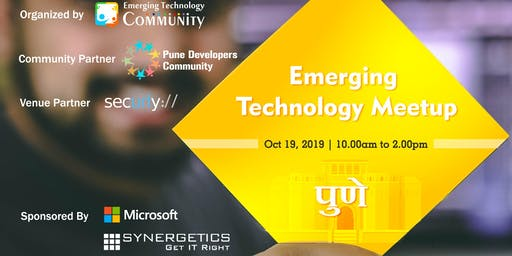 Emerging Technology Meetup - Pune
