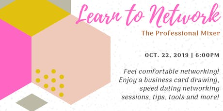 ColorComm Houston Presents: Learn to Network, Networking Mixer  tickets