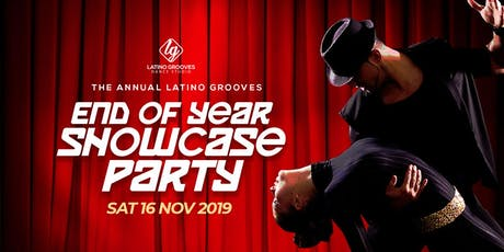 2019 Latino Grooves End Of Year Showcase Party tickets