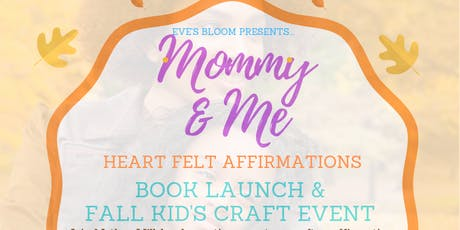Mommy & Me Craft Event & Book Launch tickets