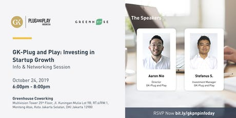 GK-Plug and Play: Investing in Startup Growth tickets