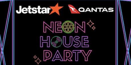 Jetstar & Qantas Neon House Party tickets