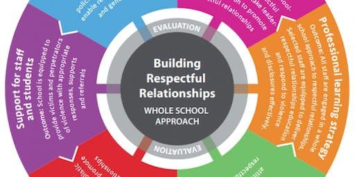 HUMA Respectful Relationships Lead Schools Day