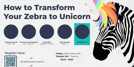 How to Transform your zebracorn tu unicorn tickets