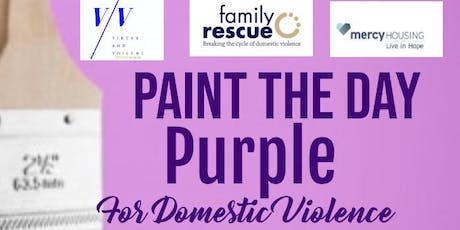 Paint The Day Purple Domestic Violence Awareness! tickets