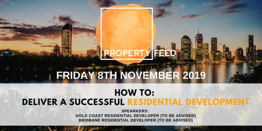 PROPERTY FEED - Final Event of 2019
