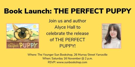 Book Launch: THE PERFECT PUPPY tickets