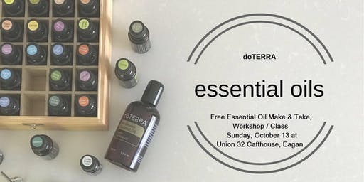 Free Class and Essential Oil Make and Take at Union 32 Crafthouse in Eagan